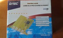 Q-Tec USB 2.0 PCI Card 5 Port