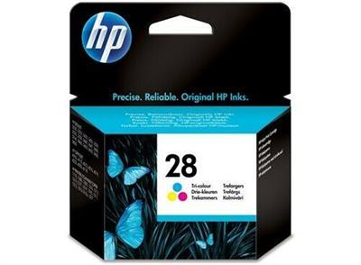 Privato vende cartucce originali HP 28 tricolor a 15€