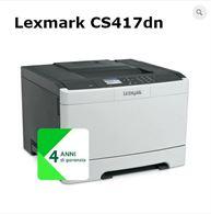 Stampante Lexmark CS417dn Colori A4 - laser/LED - Fronte/Ret