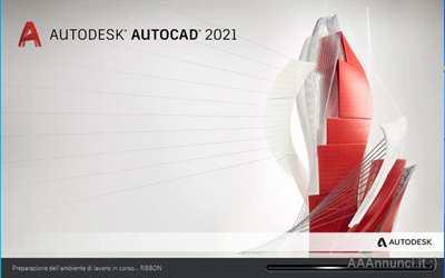 Autocad 2021 versione full, originale, italiano