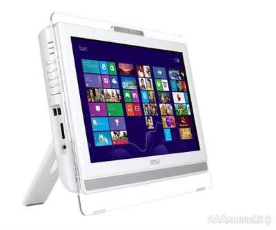 PC all-in-one con schermo touchscreen