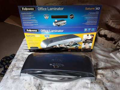 Plastificatrice Fellowes Saturn A3