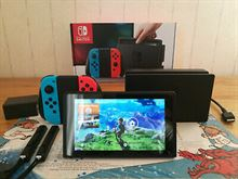 Console Nintendo Switch completa in scatola