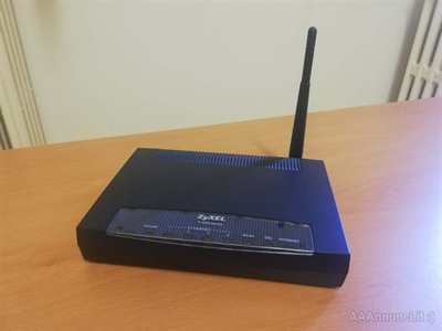 ZyZEL P660 HW D1Router wireless