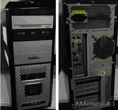 PC Core 2 Duo dual core - , 4GB ram DDR2, 160GB hd