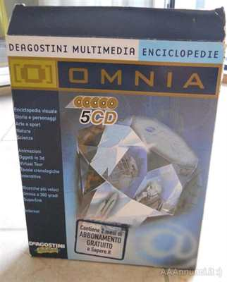Omnia Enciclopedia multimediale. Completa 5 Cd Rom originali