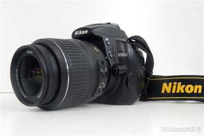 Fotocamera Nikon d5000 Video HD