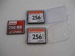 Schede Memoria Compact Flash 256 MB
