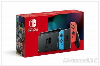Nintendo Switch Rosso Blu Nuovo