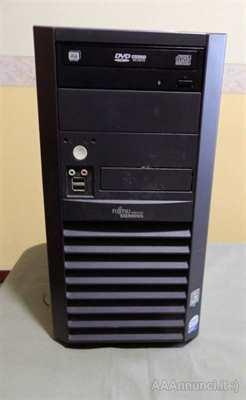 Computer fisso Fujitsu Core 2 Duo